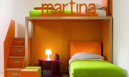 двухярусная кровать для девочки