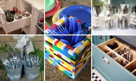 идеи для хранения столовых приров