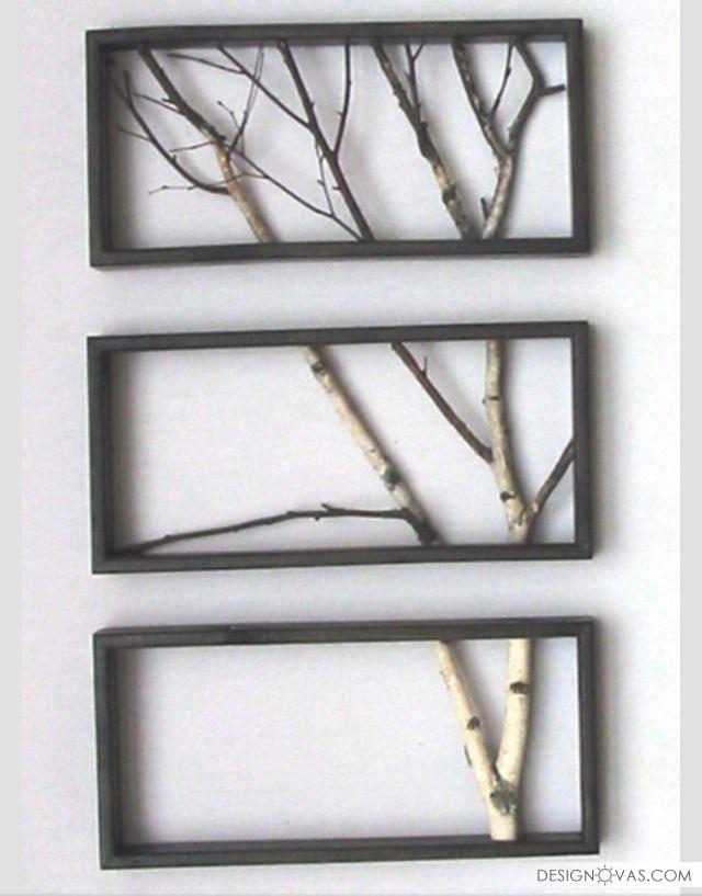 Декор из веток деревьев своими руками