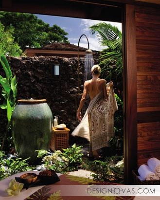 outdoor shower idea